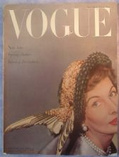 Vogue Magazine - 1949 - Feburary